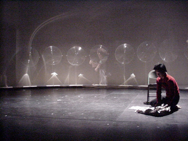 Chi Long | Luna rehearsal | 2000 | Dena Davida
