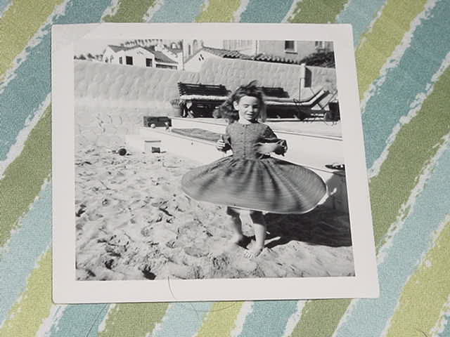 Dena Davida | Beach Dancing at 5 | 1954